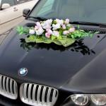 украшение свадебных авто